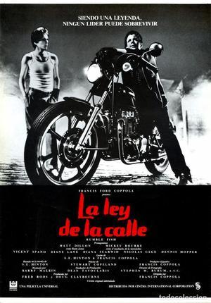 LA LEY DE LA CALLE (GUÍA ORIGINAL DOBLE CON FOTOS DE SU