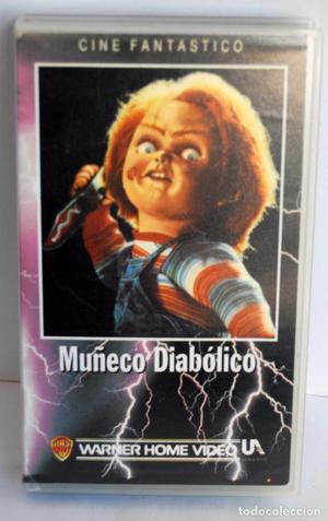 MUÑECO DIABOLICO EN VHS CHUCKY