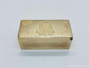 Pisapapeles antiguo de la prestigiosa marca LOEWE en bronce