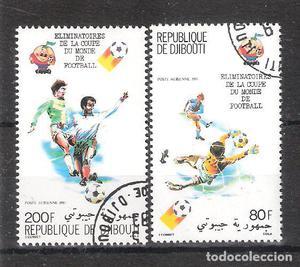 YIBUTI Aéreo nº º Copa Mundial de Fútbol España