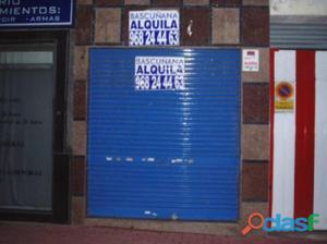 ALQUILER DE LOCAL COMERCIAL EN ELE INFANTE JUAN MANUEL,
