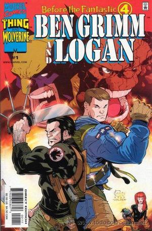 BEFORE THE FANTASTIC FOUR: BEN GRIMM AND LOGAN, SERIE LTDA