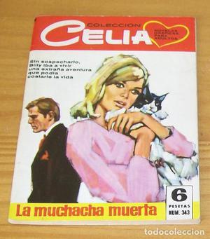CELIA 343 LA MUCHACHA MUERTA. COMIC ROMANTICO EDITORIAL