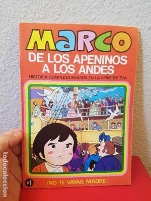 CUENTO COMIC TEBEO MARCO DE LOS APENINOS A LOS ANDES Nº 1