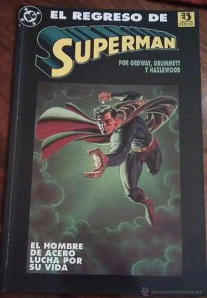 El regreso de superman. Tomo de zinco