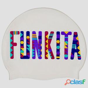 Gorros adultos Funkita Colour Bomb Silicone Swimming Cap