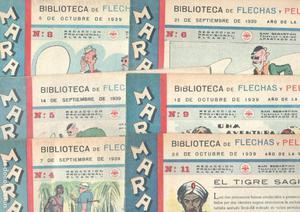 MARAVILLAS, BIBLIOTECA DE FLECHAS Y PELAYOS -  - LOTE