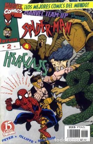 Marvel TEAM-UP Presenta SPIDERMAN Lote de 6 Nº
