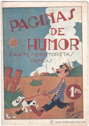 PÁGINAS DE HUMOR,CHISTES E HISTORIETAS COMICAS - EDI.
