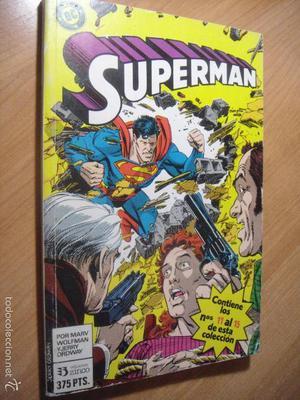 SUPERMAN TOMO 11 - Nº 11 AL 15 - ED. ZINCO