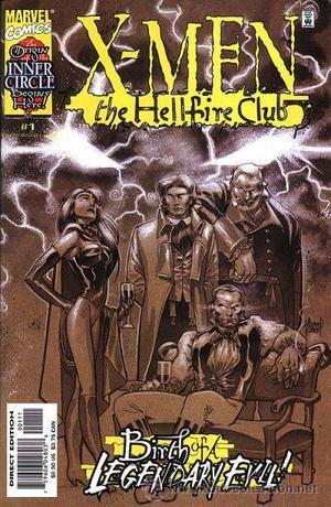 X-MEN: THE HELLFIRE CLUB, SERIE LIMITADA DE 4 NÚMEROS,