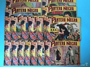 pantera negra original editorial maga lote de 18 tebeos - de