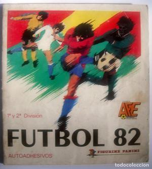 ALBUM DE CROMOS - PANINI FUTBOL 82 (TEMP.  PRIMERA