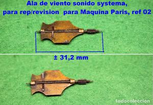 Ala de viento sonido systema, para rep/revision para Maquina