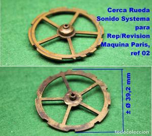 Cerca Rueda Sonido Systema para Rep/Revision Maquina Paris o