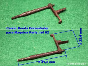 Cerrar Rueda Encendedor para Maquina Paris, ref 02