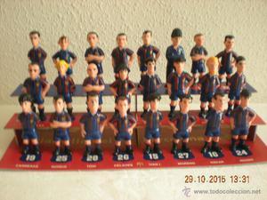 Colección Completa Las Figuras del Barça (El Mundo