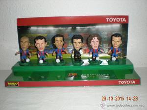 Colección Figuras PVC (Cabezones) Los Cracks del Barça (El