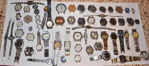 Lote de 55 relojes sovieticos.URSS