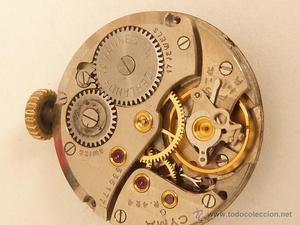 Mecanismo a cuerda para reloj omega posot class - Mecanismo reloj pared ...