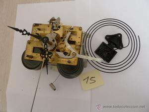 Reloj de pared a cuerda hermle para repuestos posot class - Mecanismo reloj pared ...