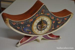 Precioso Reloj de sobremesa ART DECÓ Porcelana- Primera