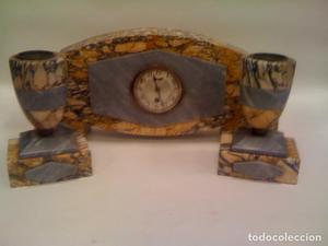 Reloj Art deco mármol