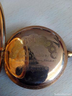 Reloj Bolsillo Ancre Oro 18 k. 15 Rubis