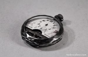 Reloj bolsillo Hebdomas 8 jours. No funciona. Para reparar o
