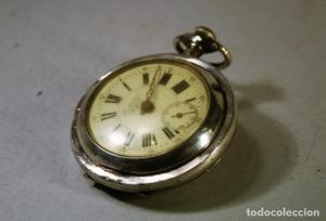 Reloj bolsillo La Perfection. No funciona. Para reparar o