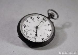 Reloj bolsillo sin marca. La maquinaria funciona. Para