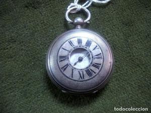 Reloj de bolsillo de carga manual de cadete