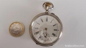 Reloj de bolsillo inglés de tres tapas de pata de 800