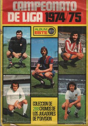 Álbum Campeonato de Liga  (Álbum Este) Incompleto