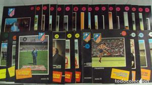 lote de 44 revistas Atlético de Madrid antiguas