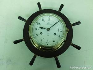 precioso reloj de barco en perfecto estado