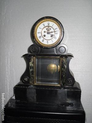 reloj Napoleon III, escape visto y funcionando