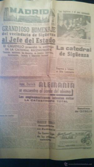 Diario de la noche Madrid, Entrega de la catedral de