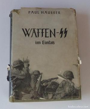 Libro original de la Waffen SS.