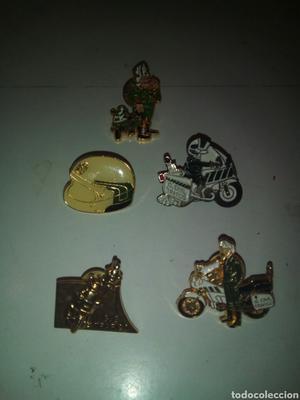 Lote 5 pins guardia civil trafico