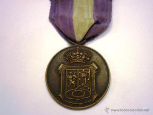 Medalla de Madrid-Mayo - Categoria Bronce con su