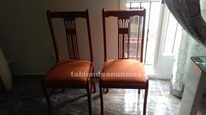 Mueble de salón seminuevo,mesa centro y 2 sillas.