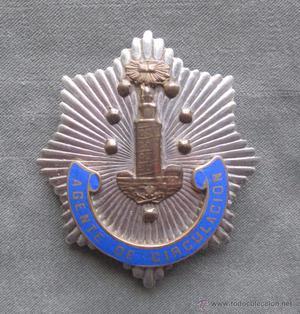 PLACA POLICÍA MUNICIPAL DE LA CORUÑA (AGENTE DE