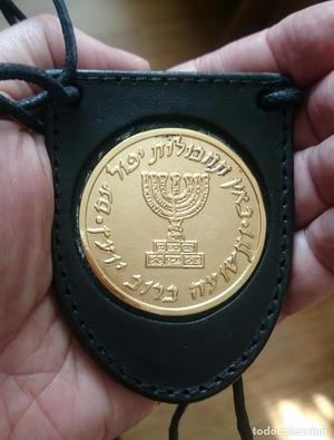 PORTAPLACAS MOSSAD SERVICIO SECRETO ESTADO DE ISRAEL - PLACA