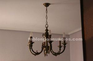 Se vende lámpara de candelabros