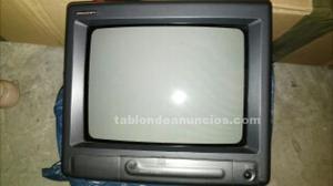 Tv pequeña con mando a distancia