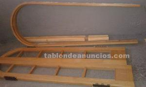 Vendo puerta de arco de madera
