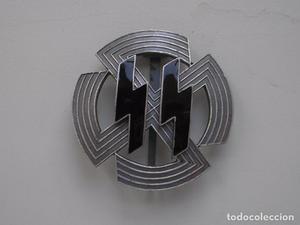 WWII THE GERMAN BADGE GERMANIC PROFICIENCY RUNES SS WAFFEN