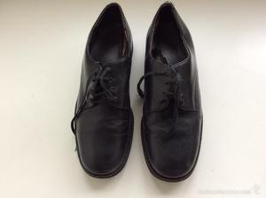 Zapato de Segarra, de uniforme de la Marina o Armada, talla