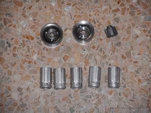 lote de piezas para recargar cartuchos calibre 16 inertes